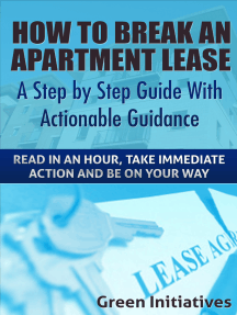 How to Break an Apartment Lease: A Step by Step Guide