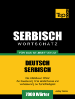 Deutsch-Serbischer Wortschatz für das Selbststudium