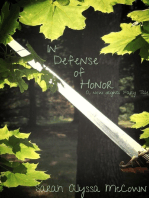 In Defense of Honor