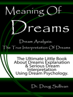 Meaning Of Dreams / Dream Analysis