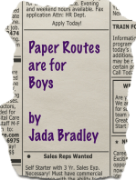 Paper Routes are for Boys