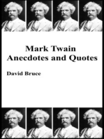 Mark Twain Anecdotes and Quotes