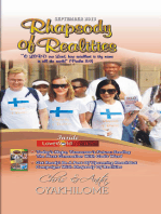 Rhapsody of Realities September 2013 Edition