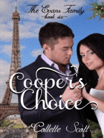 Cooper's Choice (The Evans Family, Book Six)