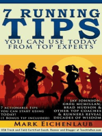 7 Running Tips You Can Use Today from Top Experts (Upgraded and Expanded)