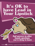 It's OK to Have Lead in Your Lipstick