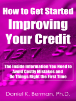 How to Get Started Improving Your Credit