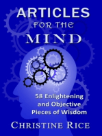 Articles for the Mind