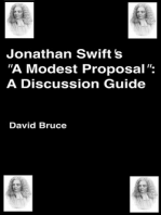"Jonathan Swift's ""A Modern Proposal"""