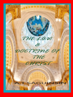 The Law And Doctrine Of The Christ