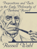 Propositions and Facts in the Early Philosophy of Bertrand Russell