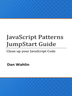 JavaScript Patterns JumpStart Guide (Clean up your JavaScript Code)