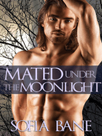 Mated Under the Moonlight (Historical Werewolf Erotic Romance)