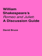 "William Shakespeare's ""Romeo and Juliet"""