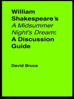 "William Shakespeare's ""A Midsummer Night's Dream"""