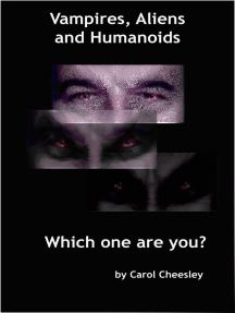 Vampires, Aliens and Humanoids: Which one are you?