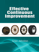 Effective Continuous Improvement