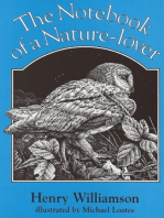 The Notebook of a Nature-lover