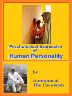 Psychological Expression of Human Personality