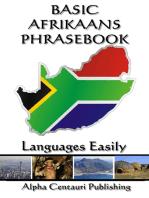 Basic Afrikaans Phrasebook