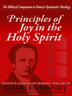 Principles of Joy in the Holy Spirit Finney's Lessons on Romans Volume III Expanded E-Book Edition