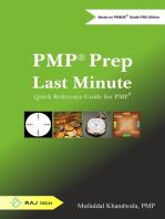 PMP Prep Last Minute