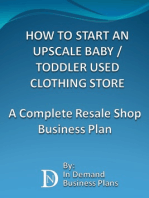 How To Start An Upscale Baby / Toddler Used Clothing Store