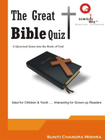 The Great Bible Quiz