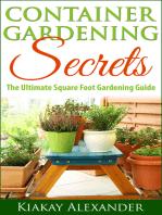 Container Gardening Secrets