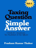 Taxing Question Simple Answer