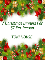 7 Christmas Dinners for $7 Per Person