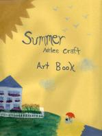Summer Poetry Art Book