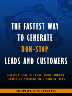 The Fastest Way to Generate Non-stop Leads and Customers