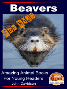 Beavers For Kids Amazing Animal Books for Young Readers