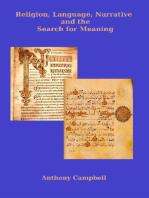 Religion, Language, Narrative and the Search for Meaning