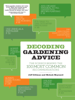 Decoding Gardening Advice