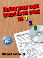 Doing Your Own Taxes is as Easy as 1, 2, 3.