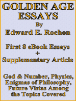 Golden Age Essays