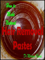 How to Make Natural Hair Removal Pastes