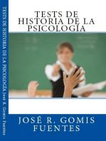 Tests de Historia de la psicología