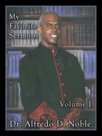 My Favorite Sermon Vol 1
