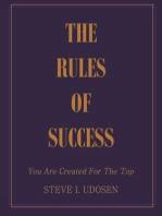 The Rules of Success