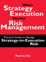 When Strategy Execution Marries Risk Management: A Practical Guide to Manage Strategy-to-Execution Risk