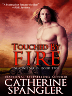 Touched by Fire – An Urban Fantasy Romance (Book 2, The Sentinel Series)