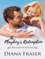 The Playboy's Redemption (Book 5, The Mackenzies--James)
