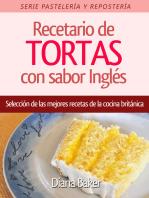 Recetario de TORTAS con sabor Ingles