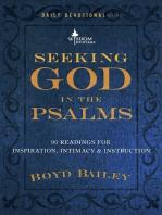 Seeking God in the Psalms