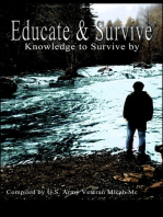 Educate and Survive