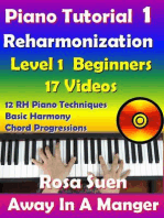 Rosa's Adult Piano Lessons Reharmonization Level 1