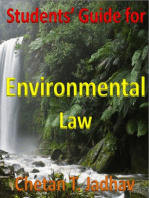 Student's Guide for Environmental Law